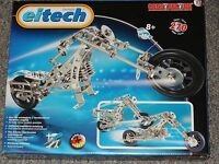 Chopper Motorcycle C15 Eitech Metal Building Construction Toy Steel Model