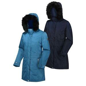 Regatta-Womens-Lexis-Insulated-Hooded-Parka-Waterproof-Jacket-RRP-120