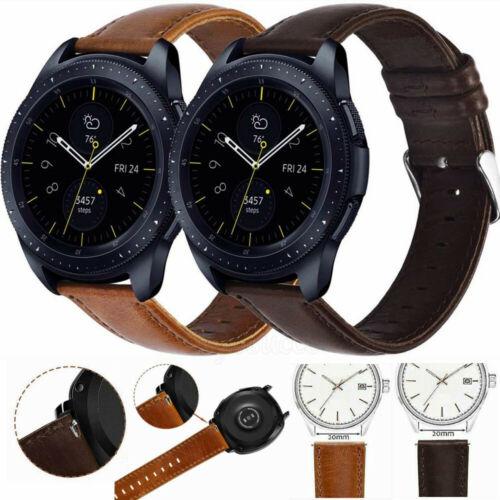 20 mm Echtes Leder Armband Für Huami Amazfit Bip//Amazfit 42MM//Amazfit GTS Neu