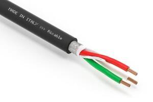 Ricable-Power-U4P-al-METRO-Cavo-di-Alimentazione-3-x-4-mm-Hi-End-OFC-13-mm