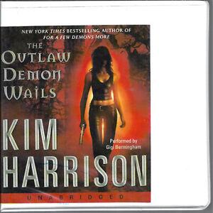The-Outlaw-Demon-Wails-by-Kim-Harrison-Rachel-Morgan-6-Unabridged-CD-Audio-Book