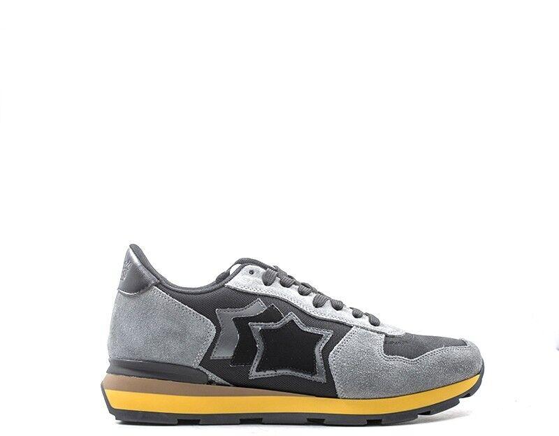 Schuhe ATLANTIC STARS Mann grau Stoff,Wildleder  ANTARESNPN-03N