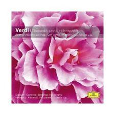 Caballe/Pavarotti/otsm/credesse/+ - Verdi-romanticismo e passione (CC) CD NUOVO