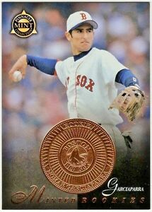 1998 Pinnacle Baseball Minted Rookies Card 26 Nomar