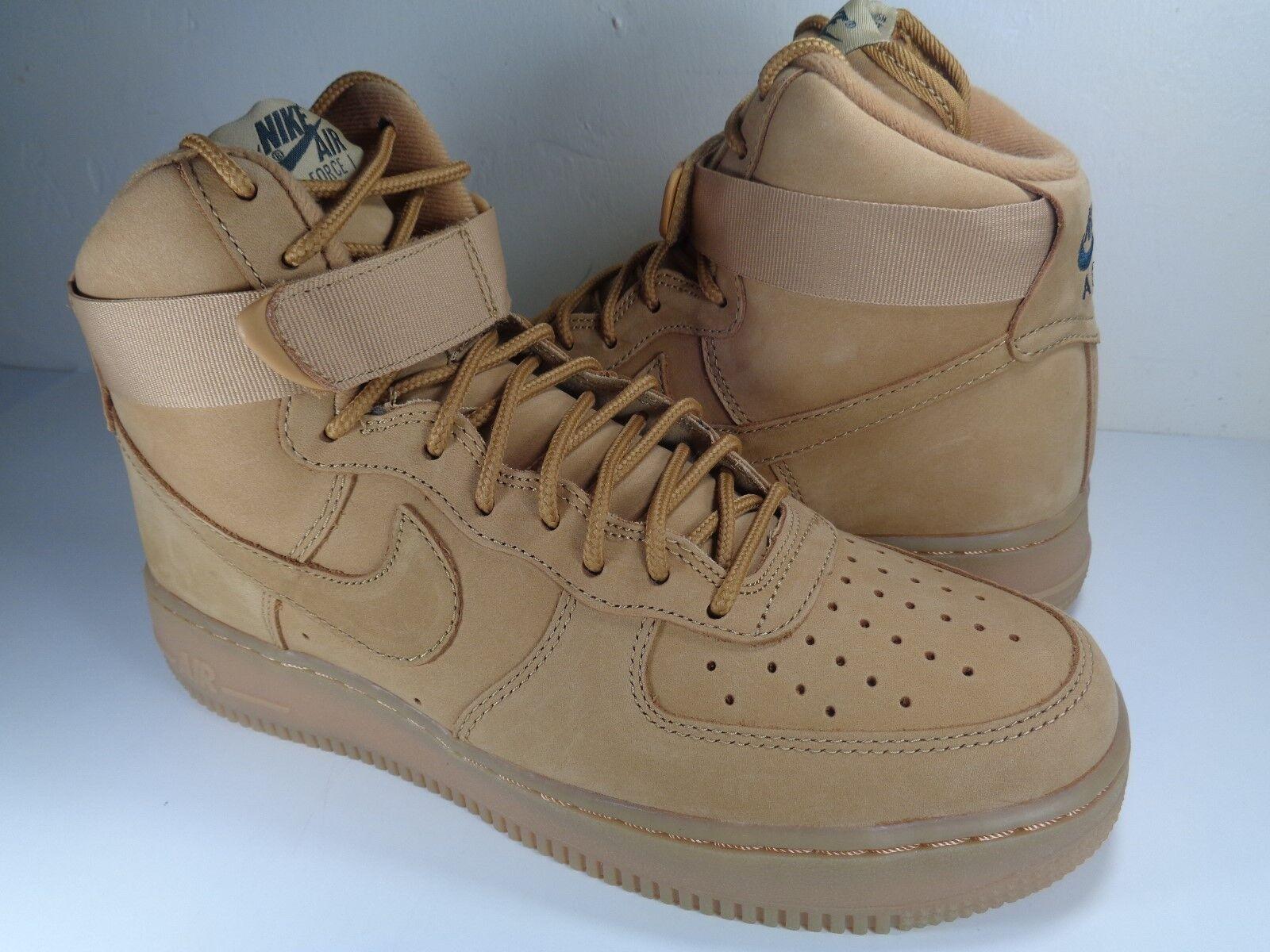 Nike Force 1 trigo alta'07 LV8 Air Lino trigo 1 pajar (806403-200) 91bdff
