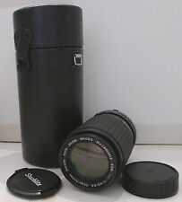 Film Camera Lens Starblitz Auto Zoom Macro 52 MC 1:4.5-5.5 f=80-200mm - TESTED