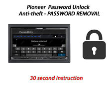 atFoliX 3x Anti Shock Screen Protector for Pioneer Avic-Z910DAB matt/&flexible