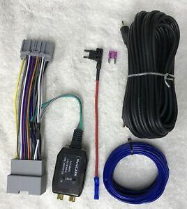 Chrysler-Dodge-Jeep-Ram-Factory-Radio-Add-A-Subwoofer-Amp-Plug-amp-Play-Harness