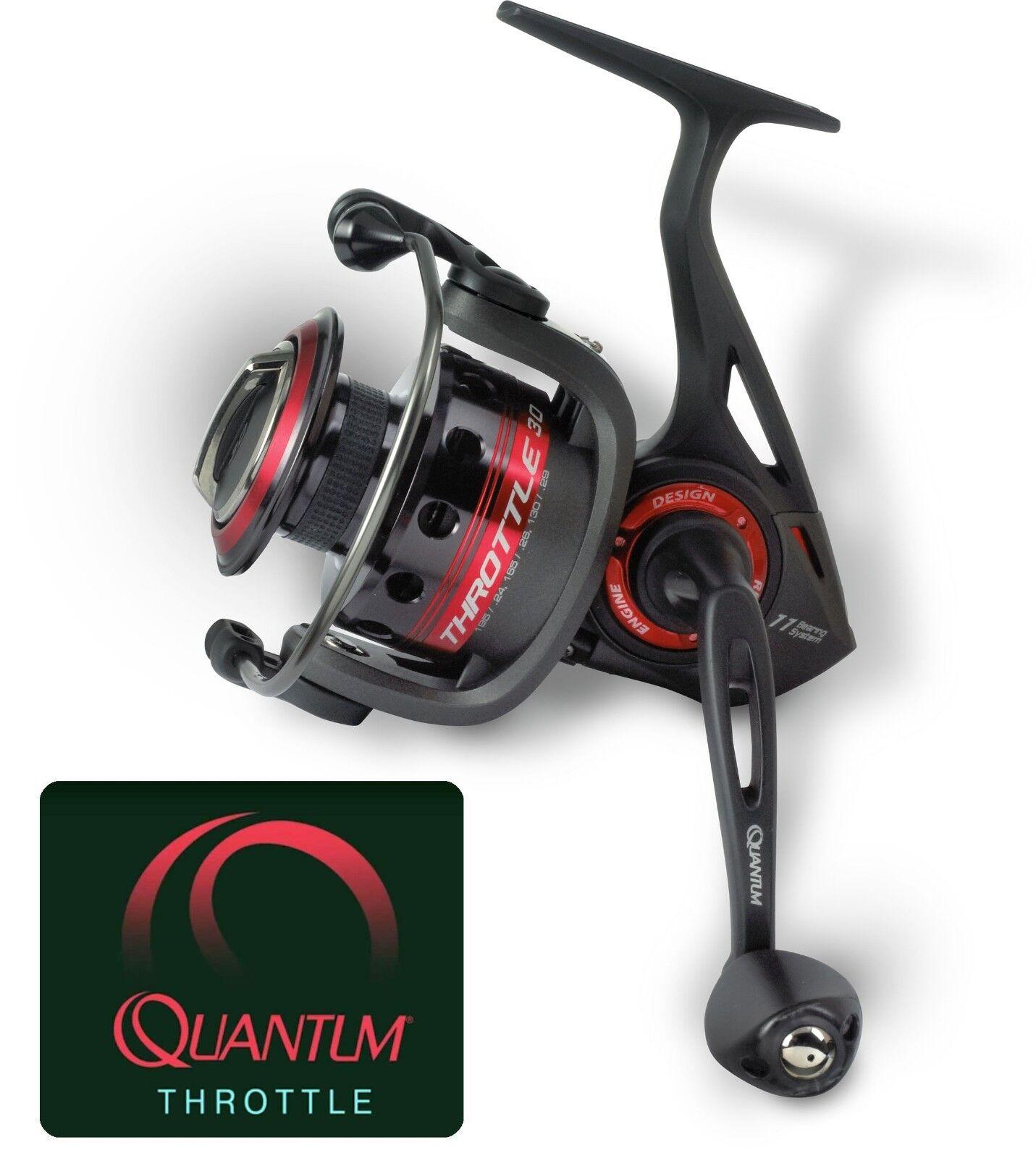 Quantum THROTTLE TH50 + 8 300m Spiderwire® Stealth Smooth 8 + 0,17mm 17kg c739ff