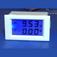 DC 0-600V 0-50A LED Dual Digital LCD Anzeige Voltmeter Amperemeter 12V/24V Auto