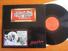 ORG VINYL LP KILLERS FILS DE LA HAINE 1985 DEVILS RECORDS ADX SORTILEGE TITAN EX