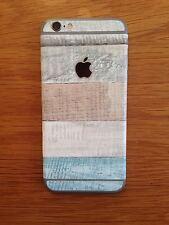 Papel pintado con textura de madera vinilo piel para iPhone 6 Pegatina/iPhone 6 Calcomanías