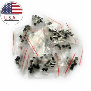 160PCS-Transistor-Kit-NPN-PNP-Amplifier-Circuit-Component-Three-Pins