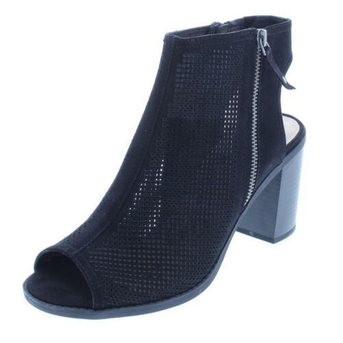 BHFO 8379 American Rag Womens Chasity Black Booties Shoes 6 Medium B,M