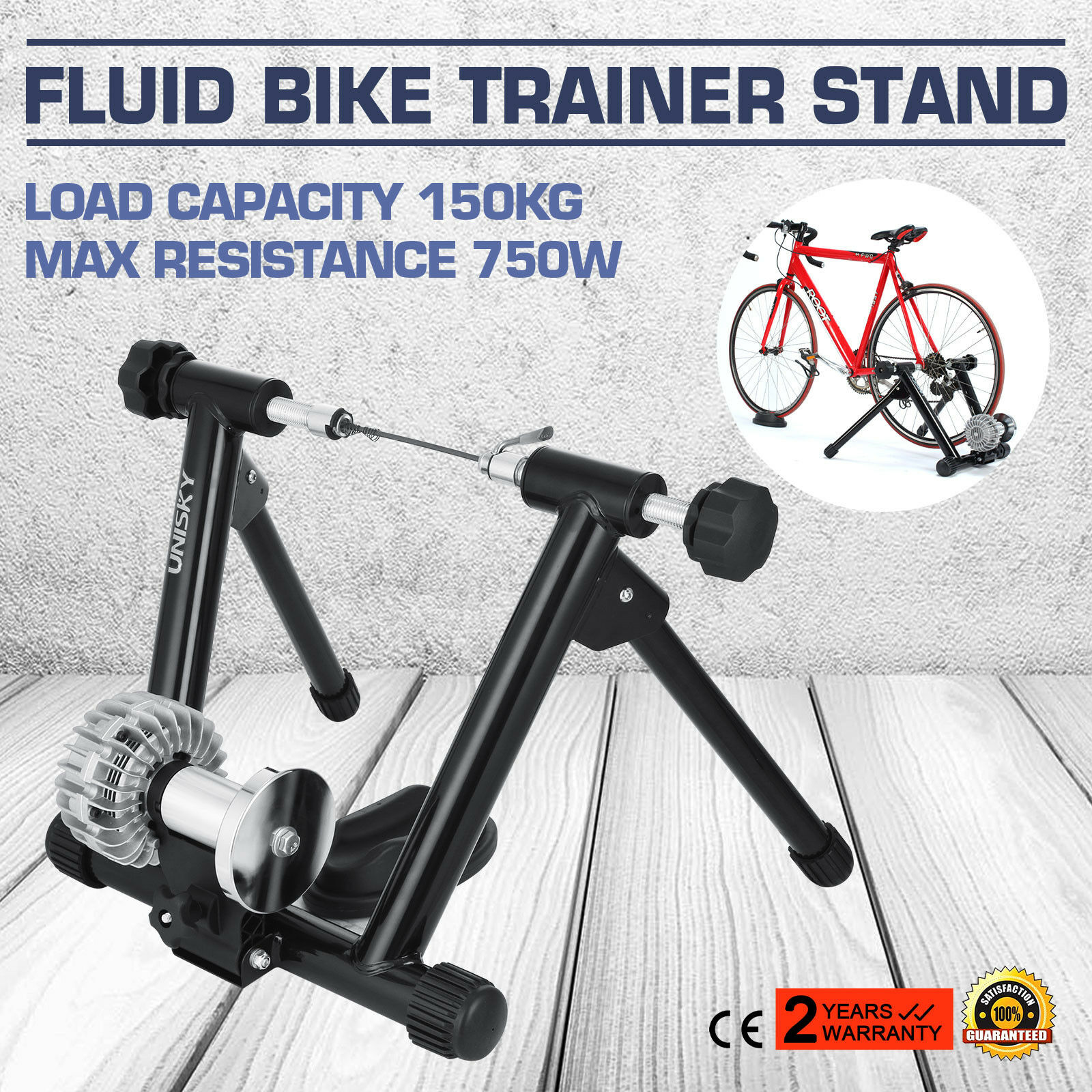 Roll entrenador fluid bicicleta entrenador Training papel hallensport 26  29 interior acero