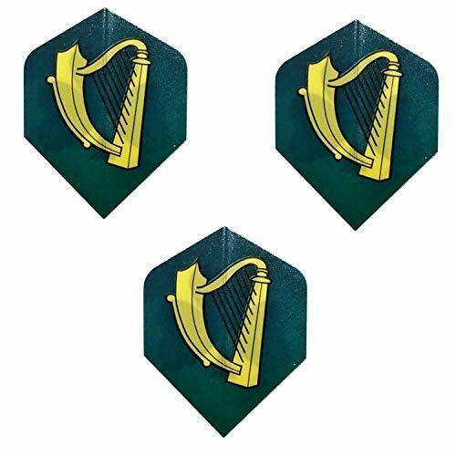 Unicorn Core Celtic Irish Scottish Harp Standard Dart Flights 75 Micron 1 Set