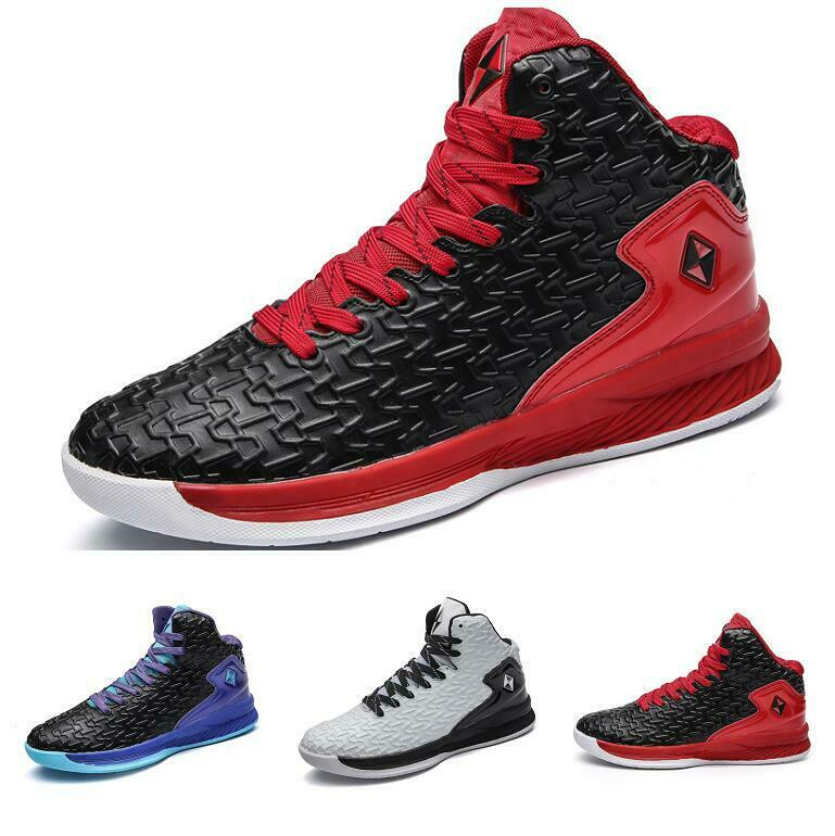 Men's 2019 Round Toe High Top Basketball Lace-up Spring Casuals Comfort shoes Sz