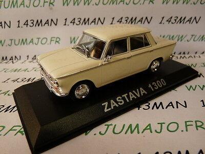 Voiture 1/43 IXO DEAGOSTINI Balkans : ZASTAVA 1300 (Fiat 1300)
