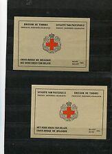 Belgien - MH Rotes Kreuz 1953  I, II ** -   KW  290,-- € ( 25859 )
