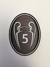 UEFA Champions League 5 CUP WINNER patch- FC Barcelona, Bayern Munich jerseys