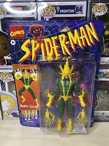 ELECTRO-Marvel-Legends-Spider-Man-Retro-Vintage-Series-6-034-Action-Figure-inHand