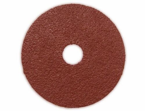 "Pack 30 4.5/"" 24g Resin Fiber Sanding Grinding Disc A//O 24 Grit Coarse 7//8/"" Arbor"