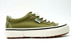 vans femme chaussure vert