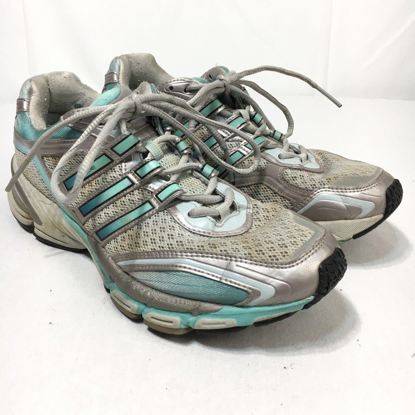 Adidas adiprene supernova glide donne 8,5 argentoo blu atletico scarpe da corsa | Funzione speciale  | Uomini/Donne Scarpa