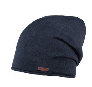Barts-034-JAMES-Beanie-034-Muetzen-Longbeanie-ganzjahres-Beanie-Navy-dunkelblau-blau