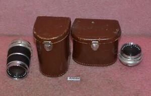 Voigtlander-Skoparex-1-3-4-35mm-amp-Voigtlander-Super-Dynarex-1-4-135mm-Lenses