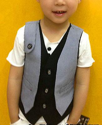 KOALA BABY Boys Children Kids Cool Handsome Knitted warm Casual Spring Vest