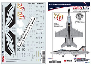 Decal-75-SQN-RAAF-70th-Anniversary-F-A-18-Hornet-1-48-Scale