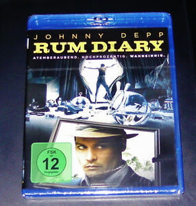 Rum-Diary-con-Johnny-Depp-Blu-Ray-SPEDIZIONE-VELOCE-NUOVO-amp-OVP