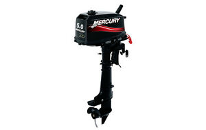 NEW-MERCURY-2-Two-Stroke-5-HP-Boat-Outboard-Motor-Engine-Commercial-Use-Only