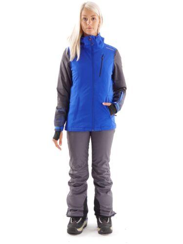 Blau Winterjacke Jalbera Atmungsaktiv Snowboardjacke Brunotti Isoliert FOq0pnzw