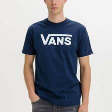 Camisetas Hombre  VANS MN VANS CLASSIC COLOR AZUL DRBLUE