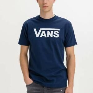 Camisetas Hombre  VANS VN000GGG5S21 COLOR AZUL DRBLUE