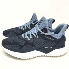0802aa8b8 Adidas Alphabounce Beyond Running Training Shoes Sneakers Blue Mens Size 8 M