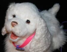 GoGo My Walkin Pup Hasbro FurReal Friends Get Up and Go White Dog
