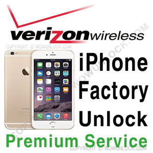 iphone unlock verizon