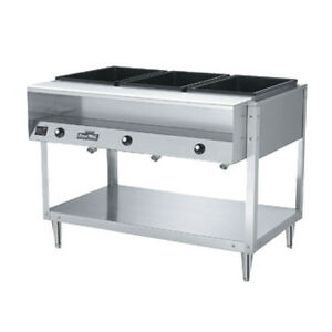 Vollrath ServeWell Electric Hot Food Table EBay - Electric hot food table