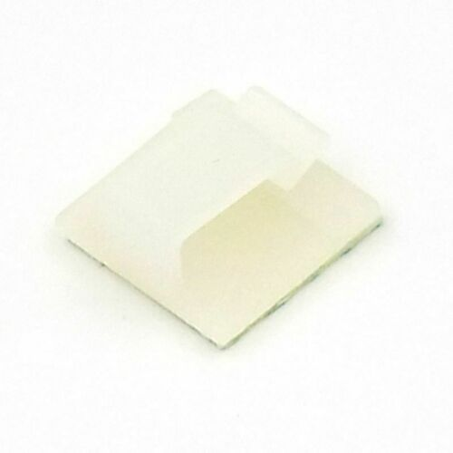 30pcs 3M Glue Adhesive Car Cable Mount Wires Fixed Cord Holder Fixer