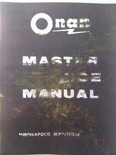 Onan 1 2 4 Cyl Gasoline Diesel Engine Amp Generator Master Service Manual Djb Cck