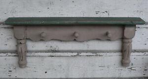 Details zu Wandregal 60cm Holz Hakenleiste Garderobe Regal shabby Wandboard  vintage Küche