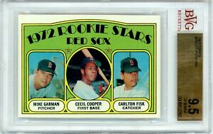 1972 Topps Carlton Fisk ROOKIE RC #79 PSA BGS 9.5 GEM MINT 1 of 1