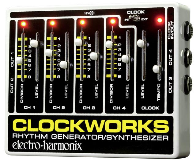 EHX Electro Harmonix Clockworks, Brand New