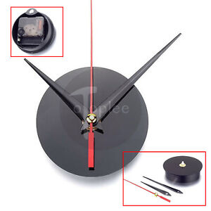 1x Round Acrylic Quartz Wall Clock Movement Mechanism