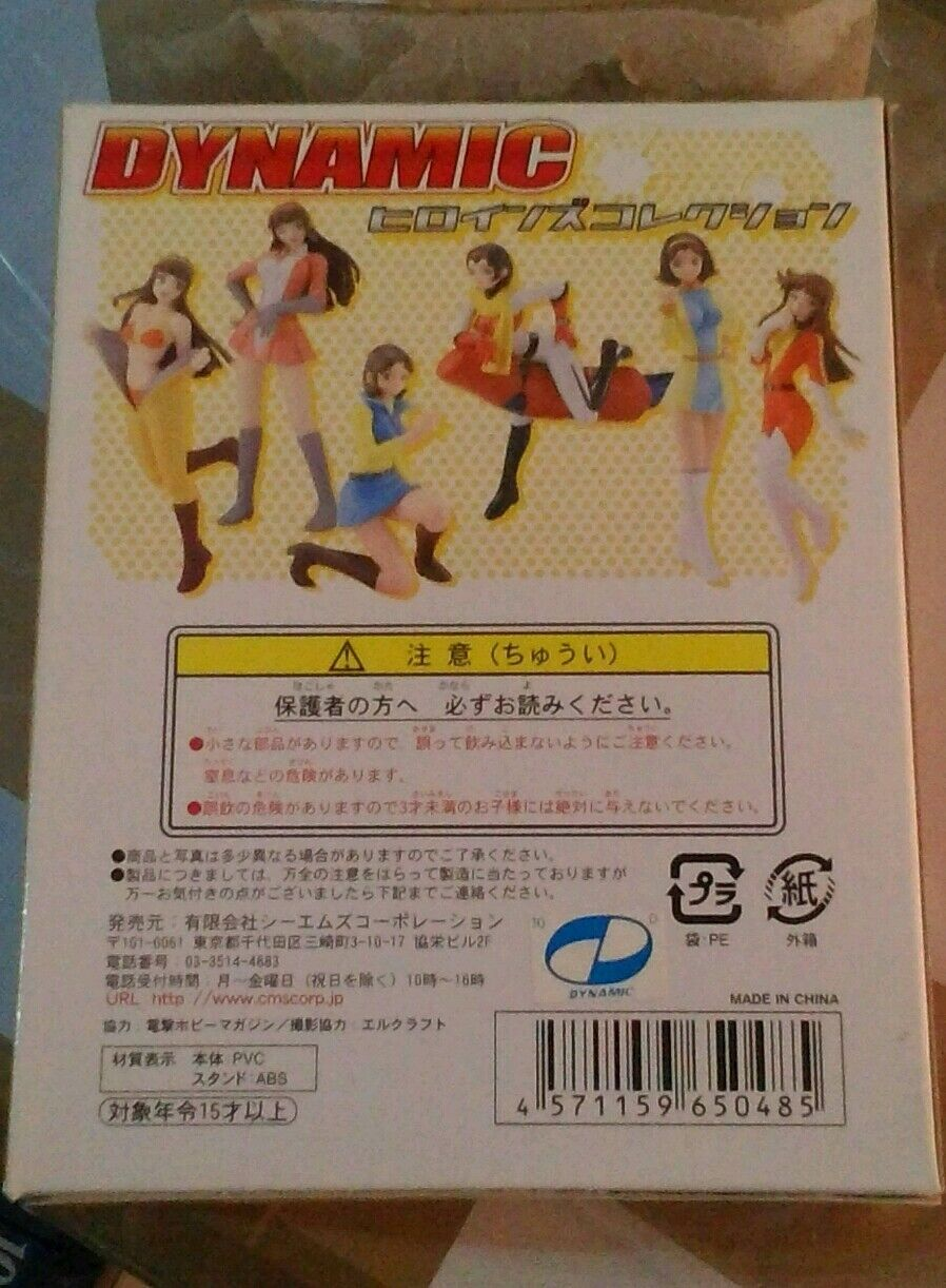 Dynamic heroines CMS Go Nagai Miwa Koketsu Jeeg Kotetsu CM'S