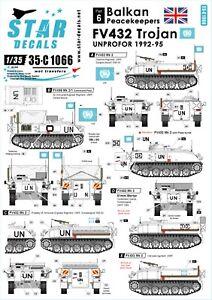 Star-Decals-1-35-Balkan-Peacekeepers-6-FV-432-Trojan-UNPROFOR-in-Bosnia-35c1066