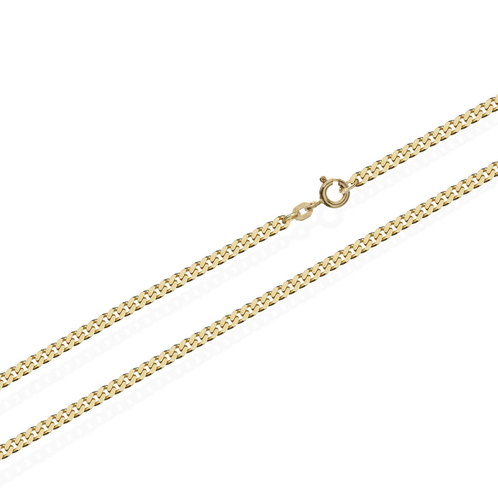 Carro ARMATO CATENA CATENA CATENA 585er massiccio giallo oro catena 5852 60cm lungo 8 5g 2 1mm NUOVO larga 8af011